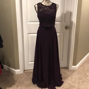 Purple dress by City triangles size 13